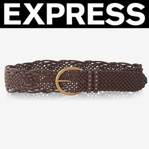 ✨NWT✨Express Braided Buckle Belt
